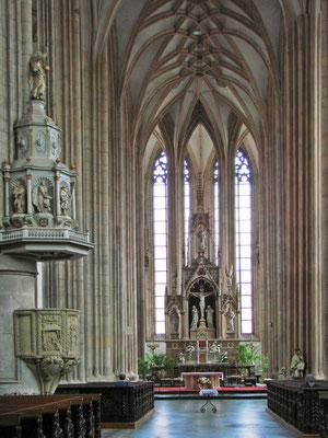 in der St. Jakobs Kirche