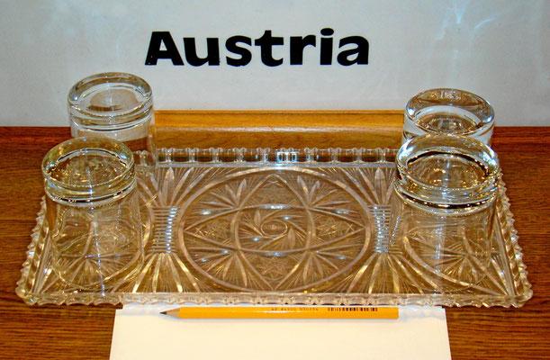 hier der Platz des österreichischen Vertreters bei der OSCE im Metternichsaal