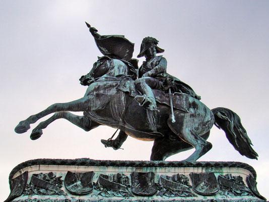 Prinz Eugen-Denkmal vor der Nationalbibliothek