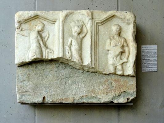 Römersteinfunde - das bakchische Triptychon