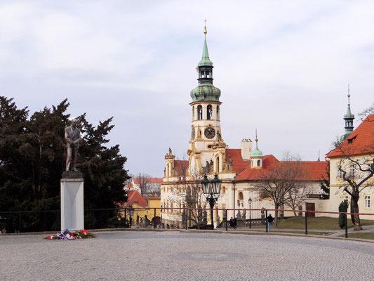 Denkmal von Edvard Beneš war ein Politiker und einer der Mitbegründer der Tschechoslowakei