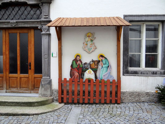Kripperl im Rathaushof