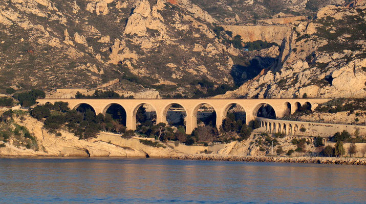 Viadukt in der Nähe von Marseille