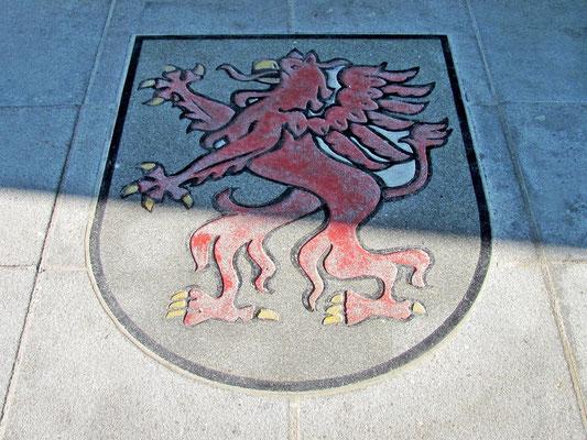 das Wappen von Leonding