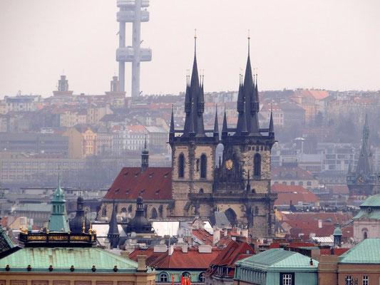 Teyn-Kirche, nach dem Dom die bedeutendste gotische Kirche Prags