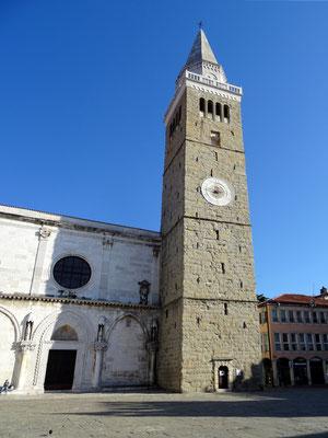 """Kathedrale """"Himmelfahrt der Jungfrau Maria"""" - eine der schönsten Kirchen in Slowenien"""
