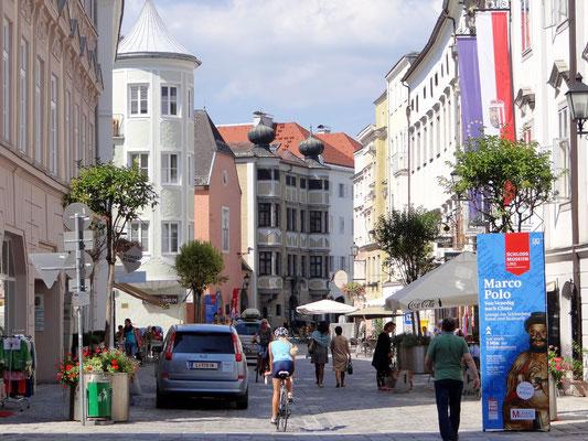 Blick in die Altstadt - Ehem. Kremsmünsterer Stiftshaus