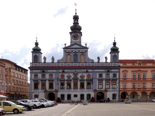 das barocke Rathaus