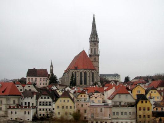gotische Stadtpfarrkiche dem Heiligen Ägidius und Heiligen Koloman geweiht