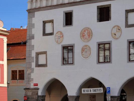 das Rathaus, in dem das Foltermuseum untergebracht ist