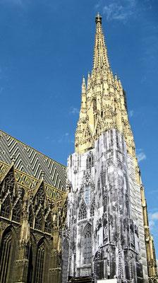 Der Stephansdom ... liebevoll *Steffl* genannt