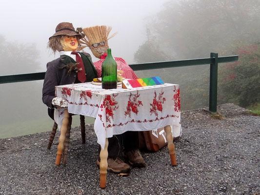 Empfang in Kitzeck, Europas höchstgelegenes Weindorf