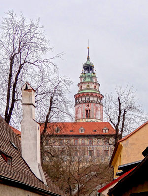 Schlossturm in Český Krumlov