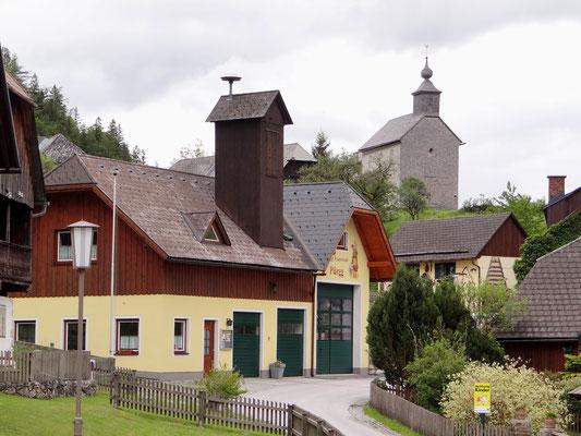 Feuerwehr und Johanneskapelle
