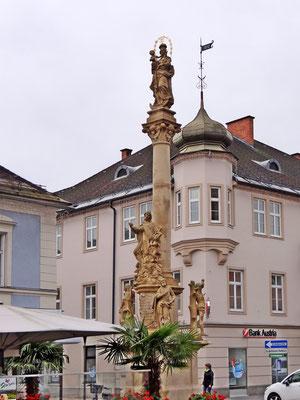 Mariensäule am Hauptplatz in Leibnitz