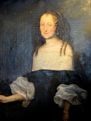 Burgherrin Katharina Elisabeth von Galler in jungen Jahren