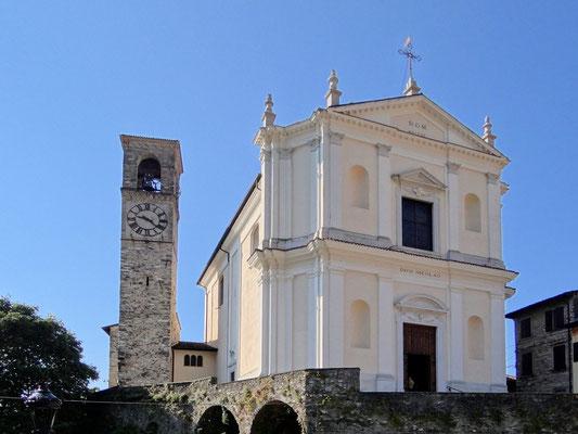 Pfarrkirche S. Nicola gegenüber dem Vittoriale