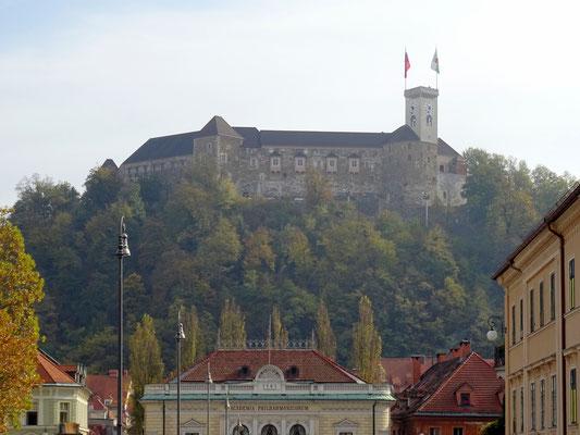 Schloss von Ljubljana