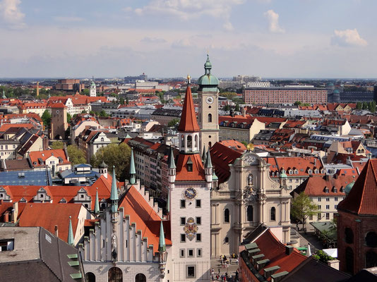 Altes Rathaus - Heilig Geist-Kirche