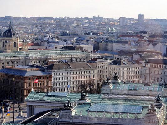 das Dach des Parlaments
