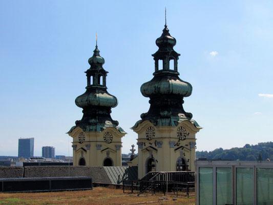 die Türme der Ursulinenkirche