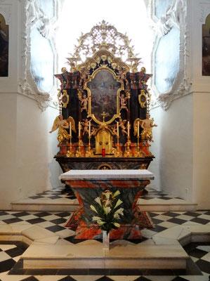 in der alten Kapelle im Schloss Seggau