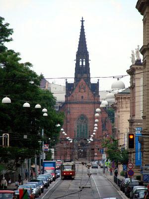 """Evangelische """"Rote"""" Kirche"""