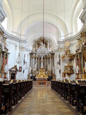 in der Jesuitenkirche
