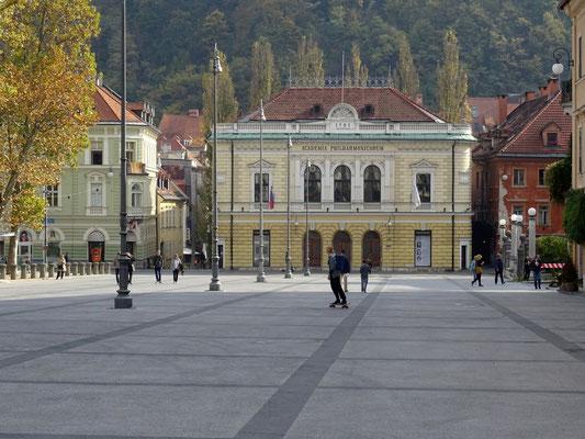 slowenische Philharmonie, gegründet 1701
