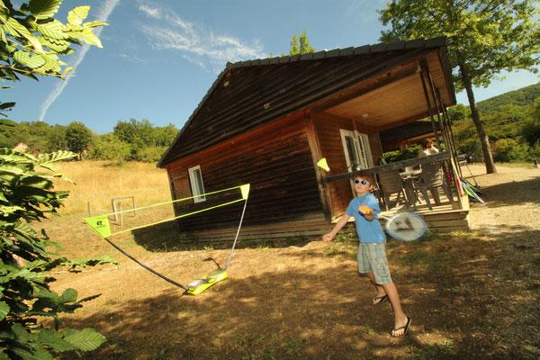 Nos Chalets Bois - Camping du Lac du Causse - Brive
