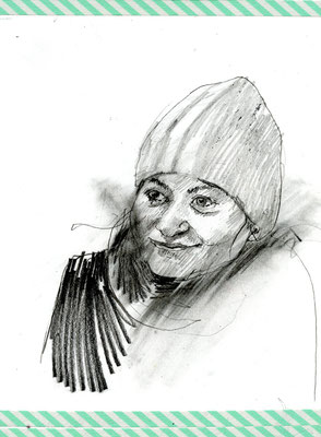 Mila, Bleistift