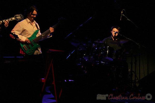 Adrien Jarthon, Hugo Raducanu; InnVivo. Festival JAZZ360 2010, Cénac, 16 mai 2010