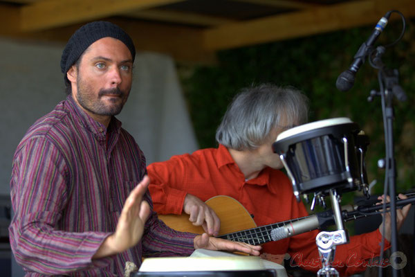 Festival JAZZ360 2013, Carlton Rara, Eric Dubosc; Serge Balsamo Quartet, Quinsac. 09/06/2013