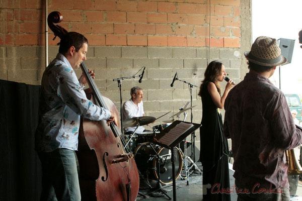 Olivier Gatto; Florinda Piticchio & Balarm Quartet, Festival JAZZ360 2011, Cénac. 05/06/2011