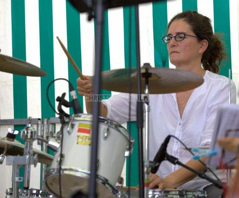 Festival JAZZ360 2014, Pascale Martinez; Jazzméléon Trafic. Cénac, 07/06/2014