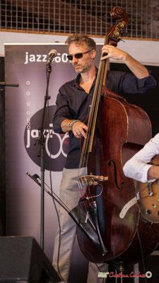 Denis Joëssel; Gadjo & Co. Festival JAZZ360 2018, Camblanes-et-Meynac. 09/06/2018