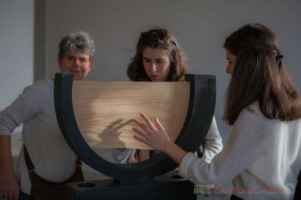 3 Matières sensibles. Scenocosme : Grégory Lasserre & Anaïs met den Ancxt. Octobre numérique, Palais de l'Archevêché, Arles