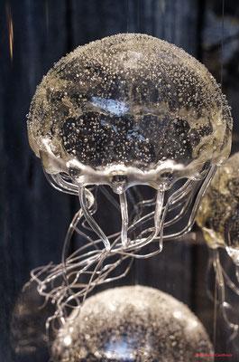 Le Ras d'eau, atelier de sculptures et lumière de Sébastien Rideau, le Verdon-sur-Mer. Samedi 3 juillet 2021. Photographie © Jean-Pierre Couthouis