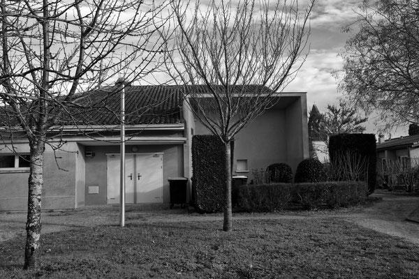 Salle culturelle à la place du presbytère par Jean-Pierre Couthouis. Cénac d'aujourd'hui. 13/01/2018