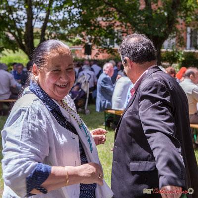 Martine Faure. Tous avec Martine...Faure et Jean-Marie Darmian, dix ans de députation et un jubilé d'engagements politiques. 14 mai 2017, Blasimon