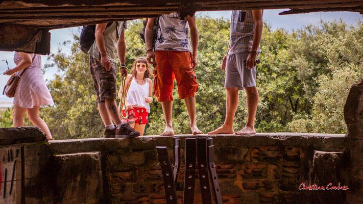 """""""Débarquement touristique"""" Bunker, batterie des Arros, mur de l'Atlantique, Soulac-sur-Mer. Samedi 3 juillet 2021. Photographie © Christian Coulais"""