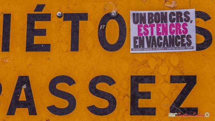 """10h48 """"Assez, assez, le peuple en a assez."""" Rue du Docteur Nancel-Pénard, Bordeaux. 01/05/2018"""