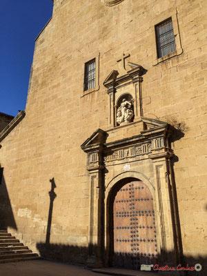 Portail de l'église Santa Maria, Olite Navarre / Portal de la Iglesia de Santa María, Olite Navarra