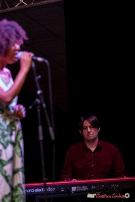 Michaël Geyre; Mayomi Moreno Project. Festival JAZZ360 2018, Latresne. 10/06/2018