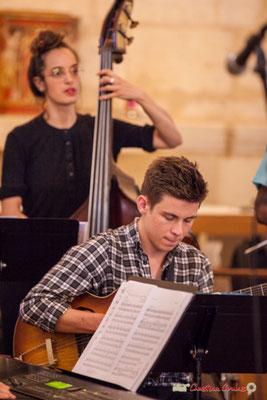 Martin Arnoux; Big Band Jazz du conservatoire de Bordeaux Jacques Thibaud. Festival JAZZ360 2018, Cénac. 09/06/2018