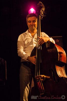 Trio Marcelle, Laurent Vanhée. Soirée Cabaret JAZZ360, Cénac, 05/11/2016