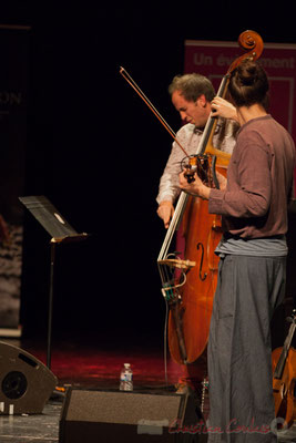Thomas Julienne, Boris Lamerand, quintet Theorem of Joy. Tremplin Action Jazz 2017. Le Rocher de Palmer
