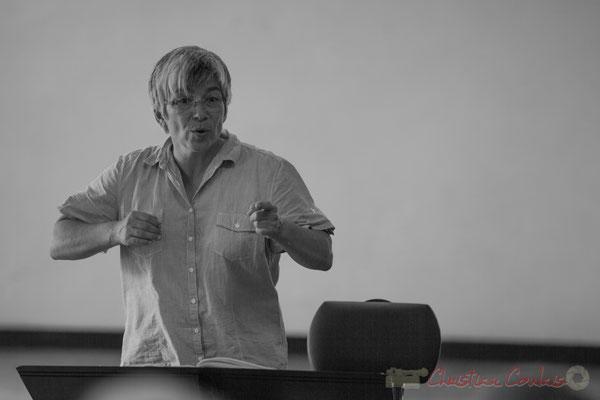 Nathalie Aubin chef de cœur des Choraleurs, Carmen in Jazz, Quinsac