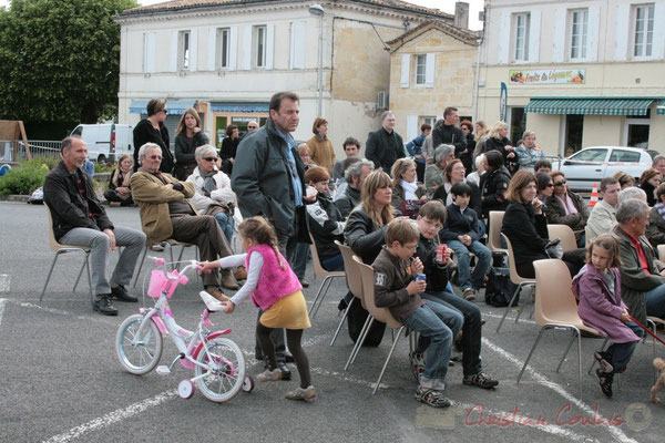 Après-midi de détente en compagnie des Ateliers Jazz des Conservatoire d'Agen, Bordeaux, Mont-de-Marsan. Festival JAZZ360 2010, Cénac. 16/05/2010