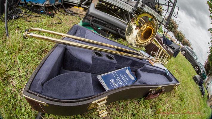 Trombone à coulisse, Big band Jazz de l'école de musique de Cenon. Festival JAZZ360 2016, Cénac, 11/06/2016